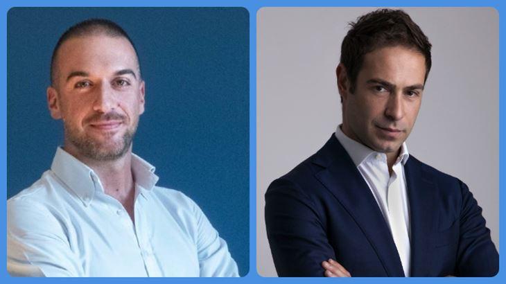 Da sinistra: Marco Micheli e Michele Carbonara