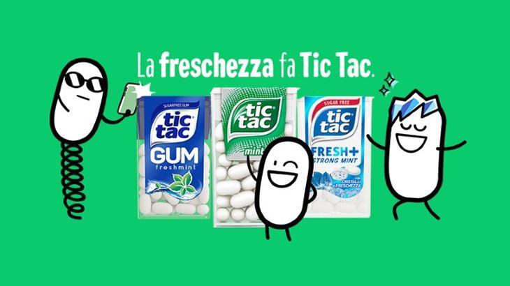 Bcube firma la nuova campagna social di Tic Tac