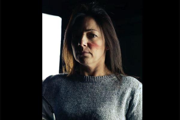 Un frame del video realizzato da Airoh contro la violenza sulle donne