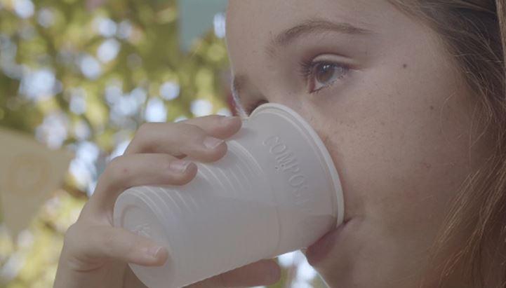 Un frame del nuovo spot BioTable