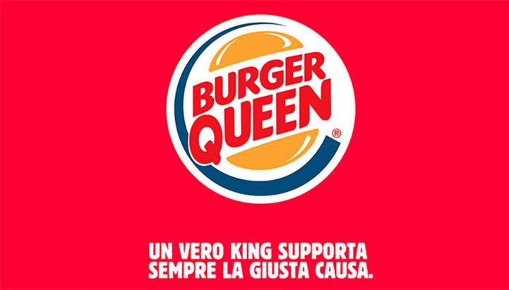 Il post social con cui Burger King ha aperto La Giornata internazionale contro la violenza sulle donne