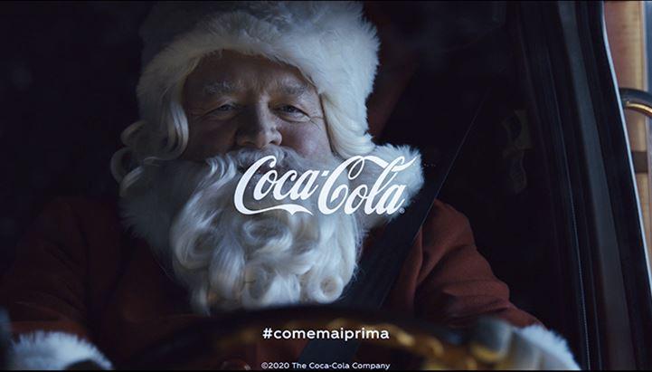 Un frame del nuovo spot di Natale Coca-Cola