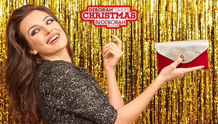 Un'immagine della campagna Deborah Milano per il Natale 2020