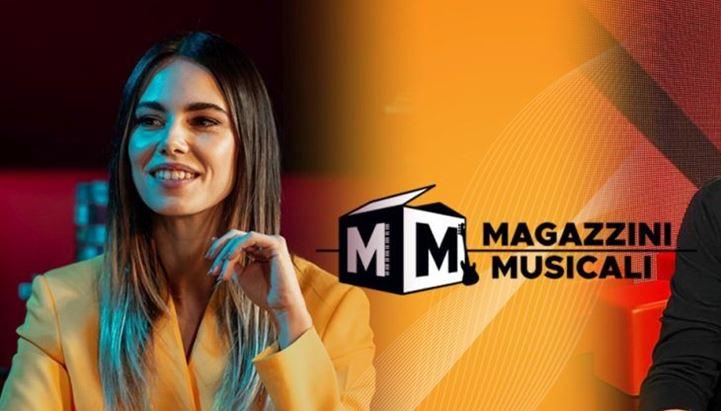 Melissa Greta Marchetto conduce Magazzini Musicali insieme a Gino Castaldo