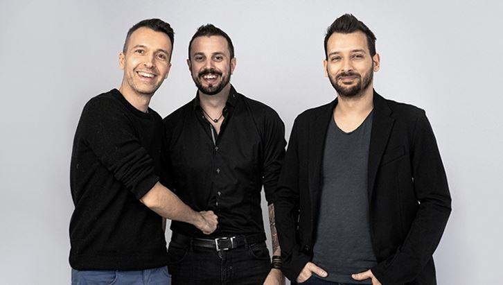 Matteo Cordini, Gabriele Stroppa e Paolo Carravieri