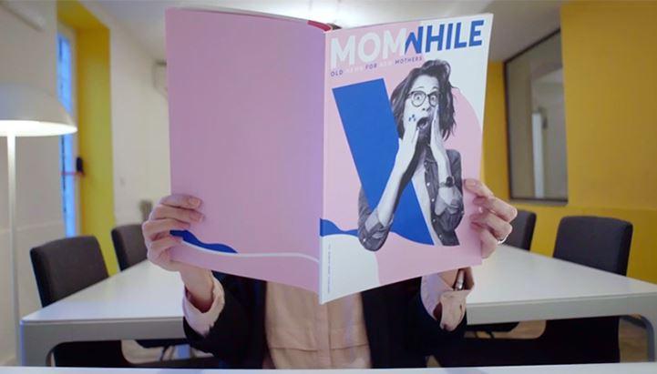 Il magazine Momwhile di TBWA\Italia