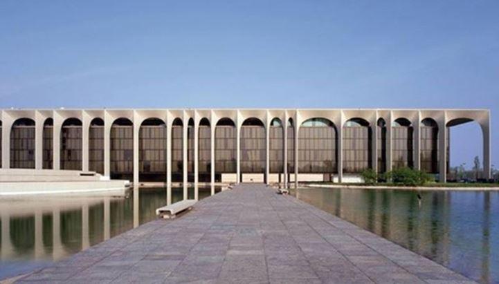 Il quartier generale della Mondadori a Segrate