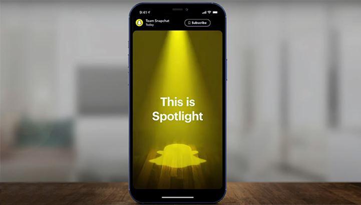 Snapchat lancia la nuova funzione Spotlight