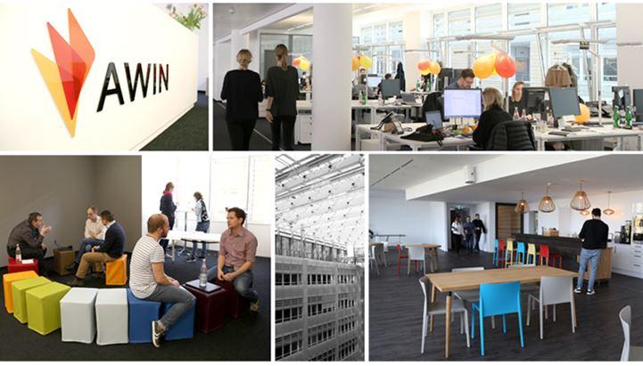 Alcune immagini della sede di Berlino di Awin (@awin.com)