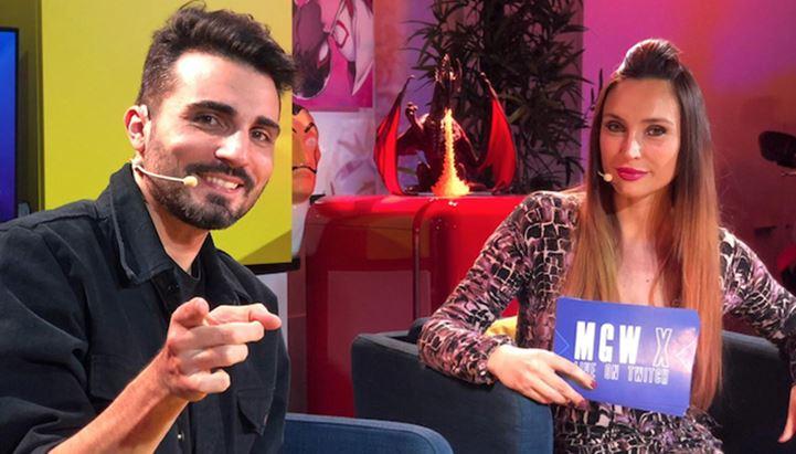 Bryan Ronzani e Giorgia Vecchini, presentatori di MGW-X