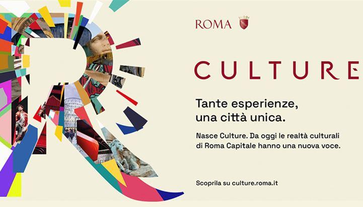 Il brand Culture per l'offerta culturale istituzionale a Roma, firmato Ragù Communication