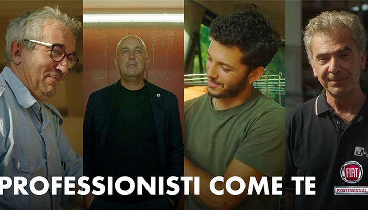 Nei nuovi spot, Fiat Professional dà voce ai professionisti