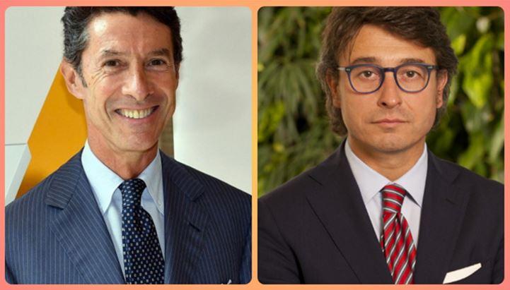Da sinistra, Uberto Fornara e Giuliano Cipriani