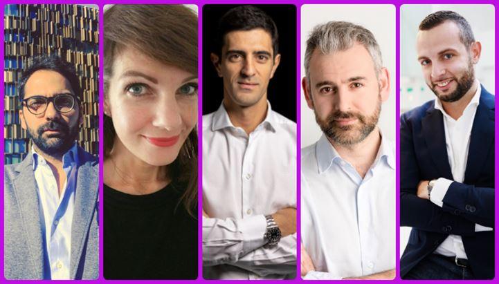 Da sinistra: Antonio Severino, Daniela Baldassarre, Luca Pravadelli, Daniele Bonomi e Erik Rosa