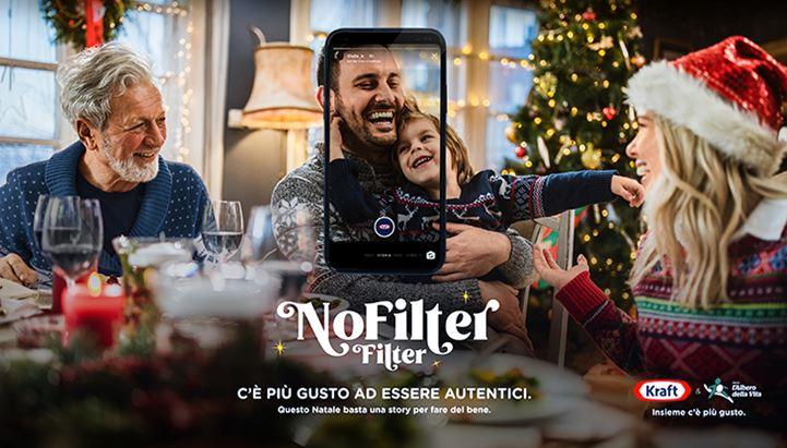 """Kraft protagonista sui social con il """"NoFilter Filter"""""""