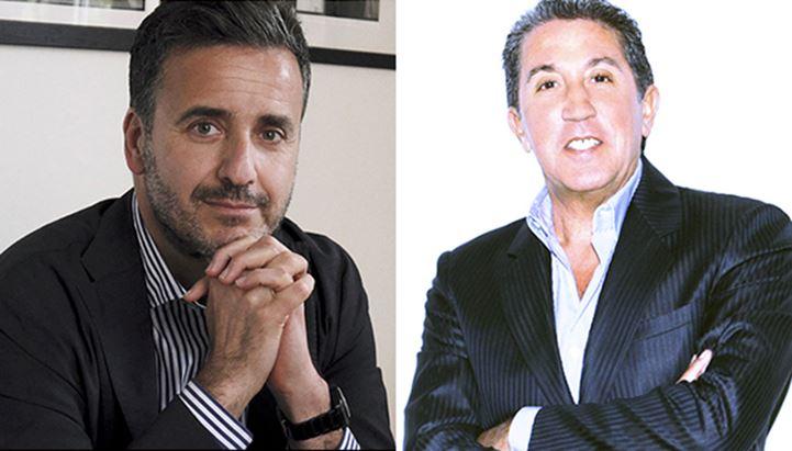Da sinistra: Luca Barnabei (Lux Vide) e Lorenzo Suraci (RTL 102.5)