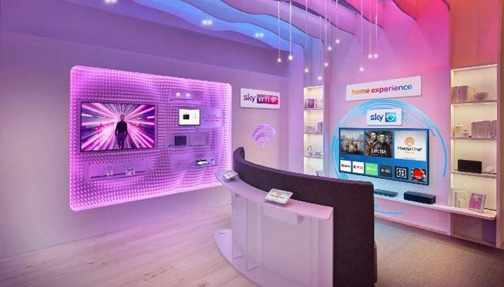 Sky, 50 negozi in Italia entro il 2021