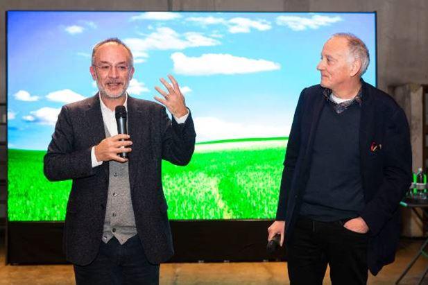 Da sinistra: Stefano Mancuso e Marco Girelli