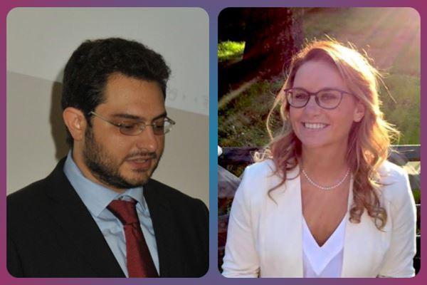 Marco Antognozzi di LuisaViaRoma e Serena Maerna di Smart