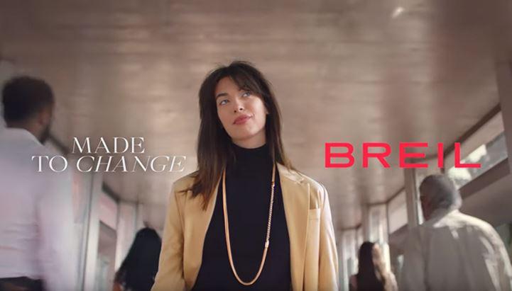 Un'immagine del nuovo spot Breil, firmato Auge
