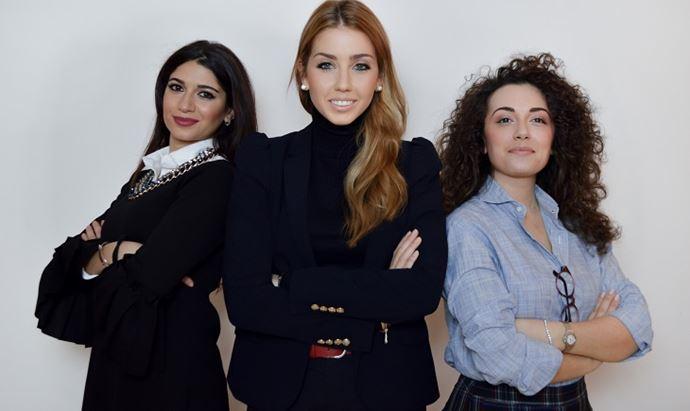 Paola Iaquinto, Angelica Eruli e Flavia Scerbo Iose