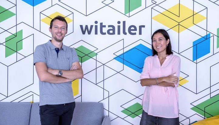 Federico Salina e Jana Nurmukhanova sono i co-founder di Witailer