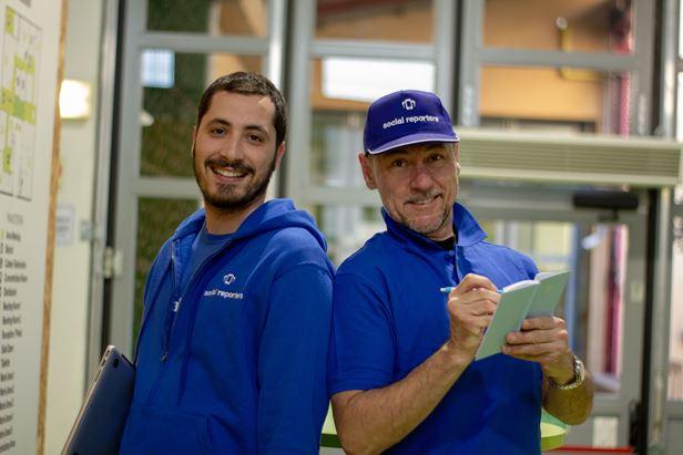 Da sinistra: Ilario Vallifuoco e Maurizio Ferraris