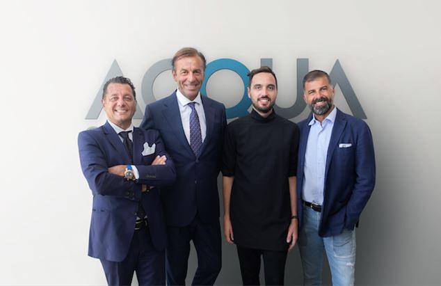 Andrea Cimenti, Roberto Frassinelli, Michele Polico e Davide Arduini