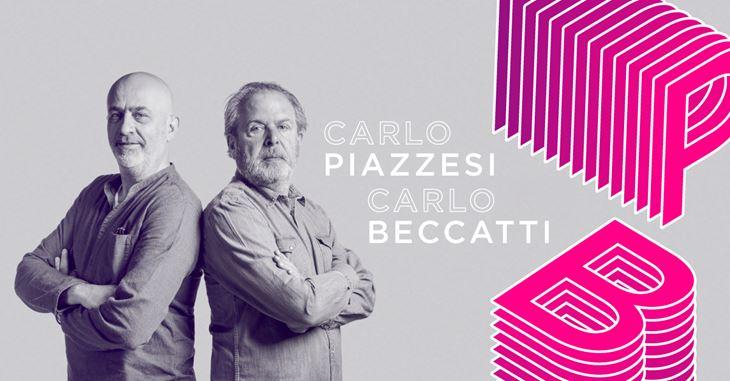 Da sinistra: Carlo Beccatti e Carlo Piazzesi