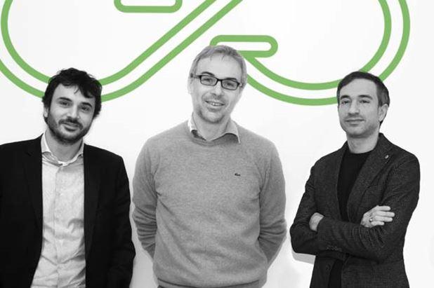 Da sinistra, Francesco Nenna, Alberto Rossi e Sergio Spaccavento