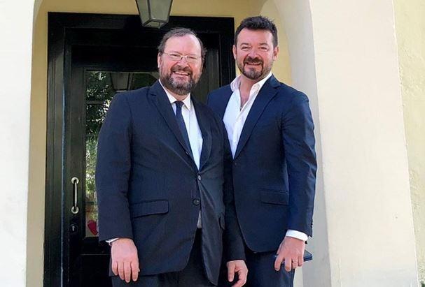 David Orban e Diego Gil