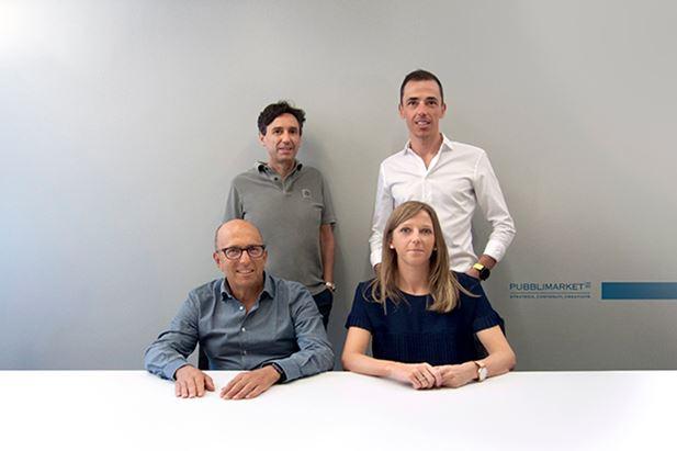 Alberto Di Donna e Giacomo Miranda; seduti, Francesco Sacco e Cristiana Feruglio