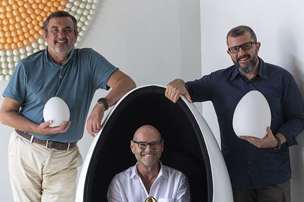 Pietro Dotti, Guido Avigdor e Alessio Cuffaro