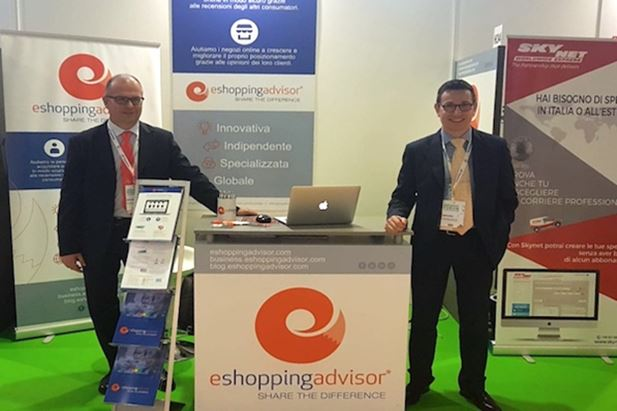 Da sinistra: Andrea Ghiani e Andrea Carboni, co-Founder di eShoppingAdvisor