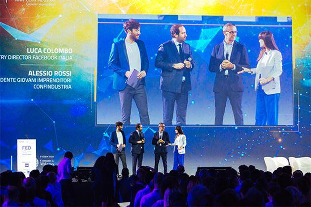 Nicolò De Devitiis, Alessio Rossi, Luca Colombo e Vittoria Cabello