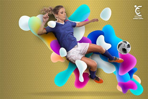 La creatività dedicata al Calcio Femminile