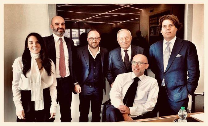 Ilaria Montefusco. Dario Albarello, Fulvio Furbatto, Nino Attanasio, Carlo Gotta e Ignazio Castiglioni