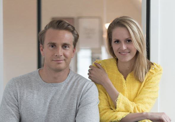 Christoph Kastenholz e Lara Daniel