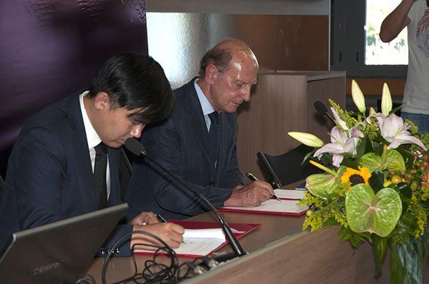 Firmano l'alleanza Keith Zhang e Giuliano Simonelli