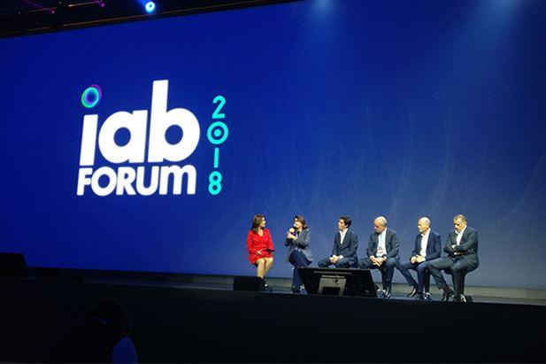 Un momento della tavola rotonda a IAB Forum