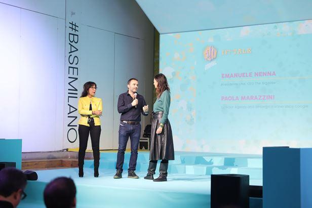 Da sinistra, Paola Marazzini, Emanuele Nenna e Alessandra Lanza