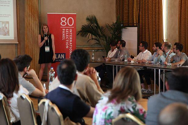 Un momento dell'International Selection Panel (ISP) di Milano