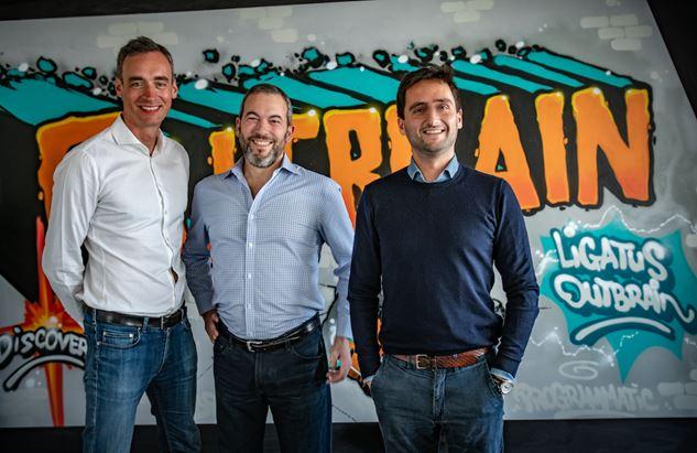 Da sinistra: Julien Moss, Yaron Galai e François-Xavier Préaut