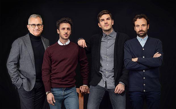 Da sin: Maurizio Spagnulo, Giovanni Greco, Enrico Pasquino, Francesco Martini