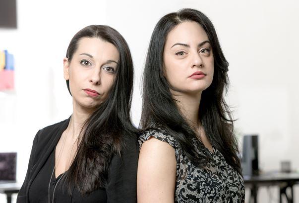 Da sinistra, Elena Decorato e Alessia Salvatori