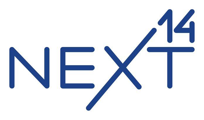 Il nuovo logo di Next 14