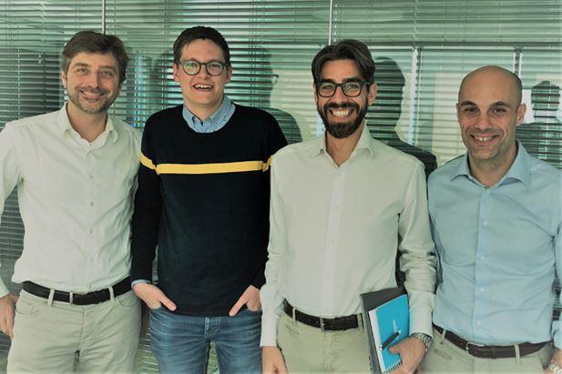 Nazzareno Gorni, Bas Nieland, Luca Azzali e Matteo Monfredini di MailUp