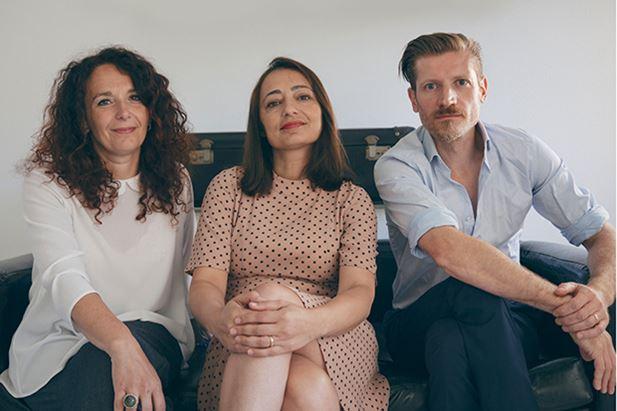 da sinistra: Marianna Ghirlanda, Stefania Siani e Federico Pepe