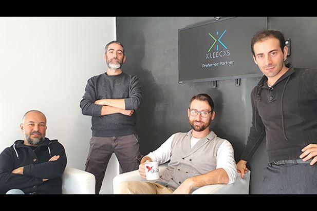 Marco Briotti, Nicola Tomassoni, Stefano Moretti e Viscardo Volpi