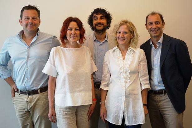 Da sinistra, Nissotti, Pecchia, Rollini, Casini e Mottura
